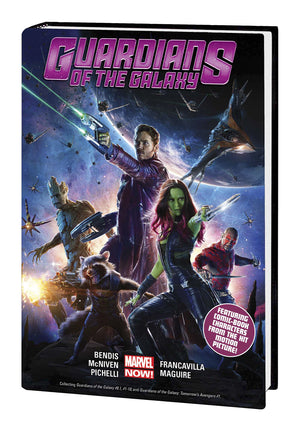 GUARDIANS OF GALAXY HC VOL 01 MOVIE CVR