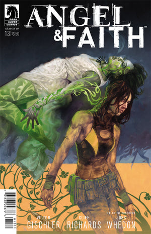 ANGEL AND FAITH SEASON 10 #13 MAIN CVR