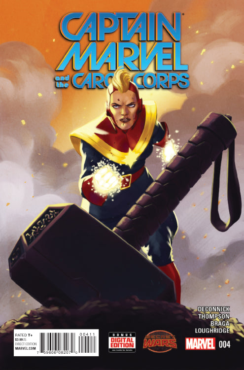 CAPTAIN MARVEL AND CAROL CORPS #4 SWA | Game Master's Emporium (The New GME)