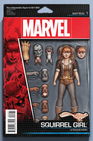 UNBEATABLE SQUIRREL GIRL #3 ACTION FIGURE VAR