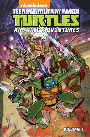 TMNT AMAZING ADVENTURES TP VOL 01