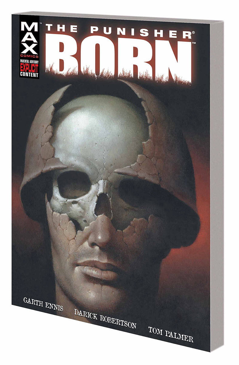PUNISHER BORN TP NEW PTG (MR) | Game Master's Emporium (The New GME)