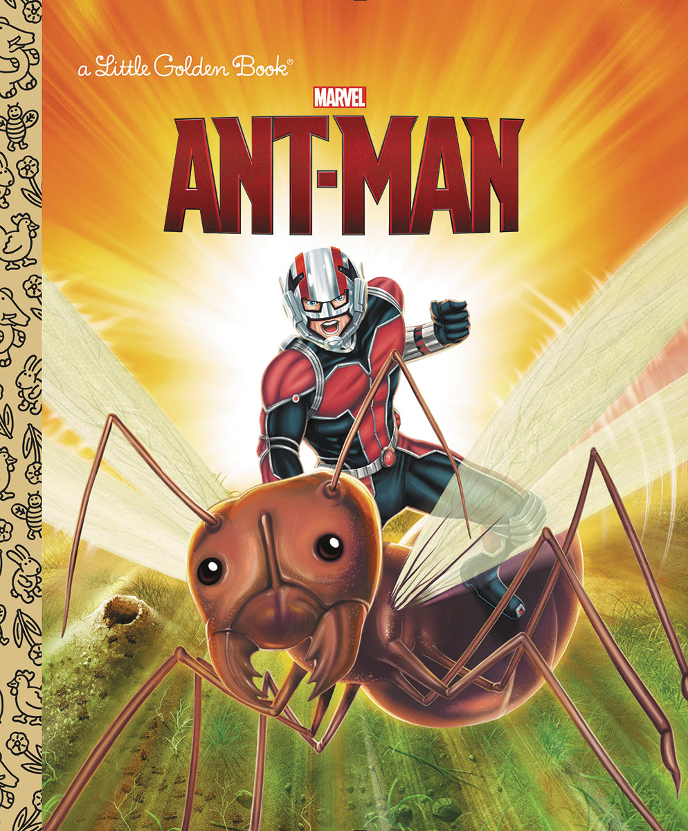 ANT-MAN LITTLE GOLDEN BOOK | Game Master's Emporium (The New GME)