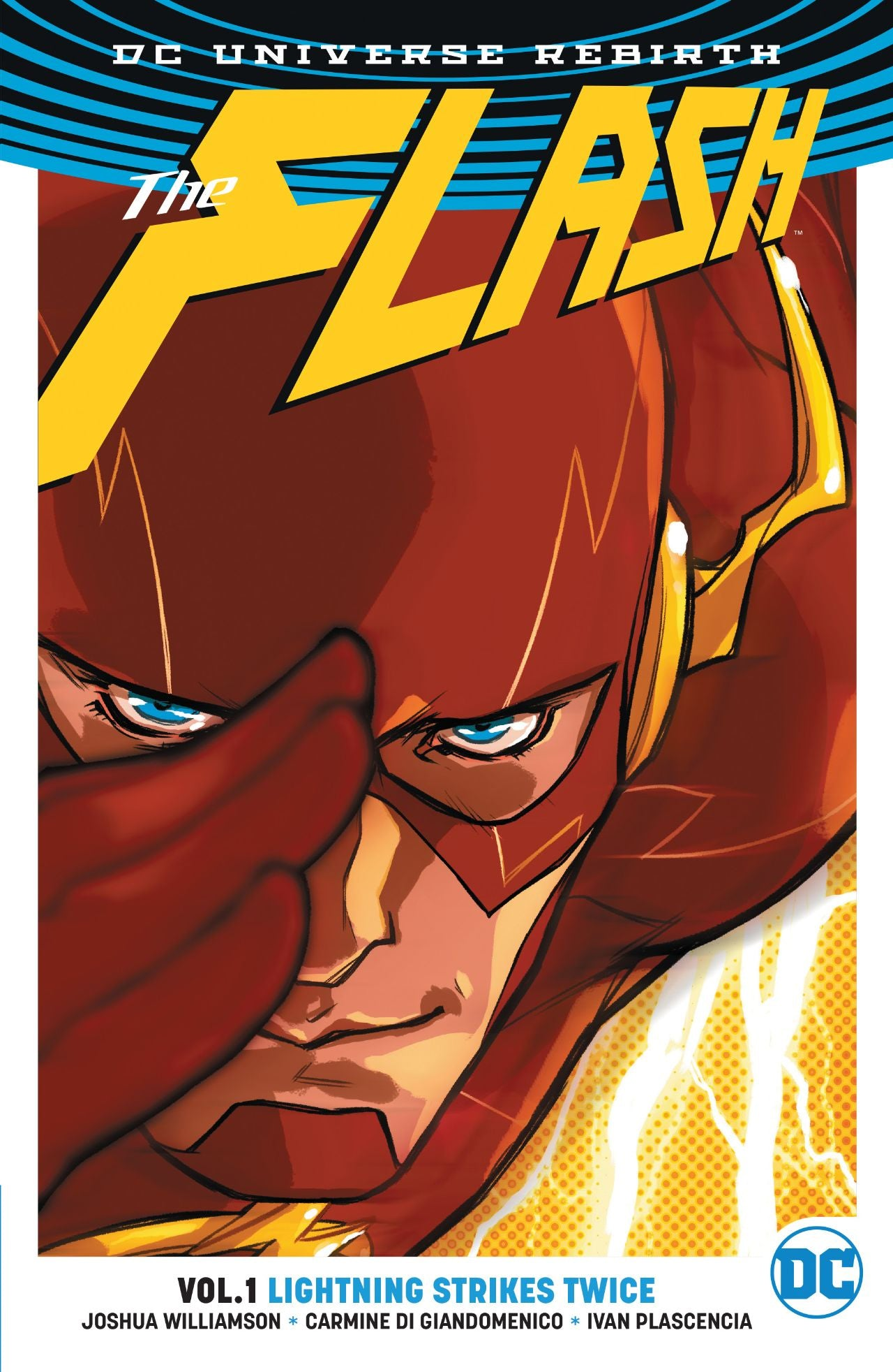 FLASH TP VOL 01 LIGHTNING STRIKES TWICE (REBIRTH) | Game Master's Emporium (The New GME)