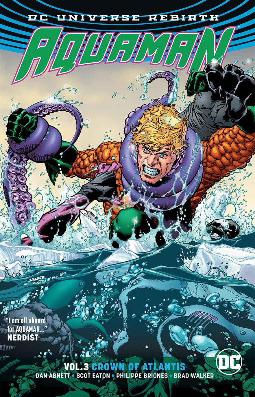 AQUAMAN TP VOL 03 CROWN OF ATLANTIS (REBIRTH) | Game Master's Emporium (The New GME)