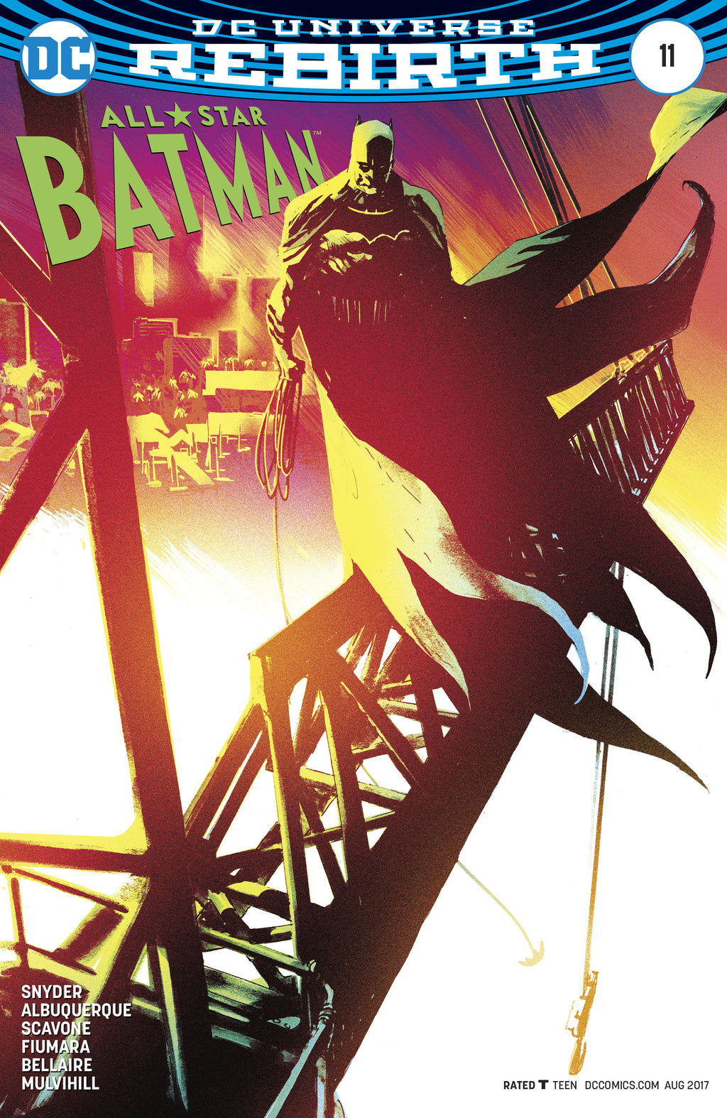 ALL STAR BATMAN #11 ALBURQUERQUE VAR ED