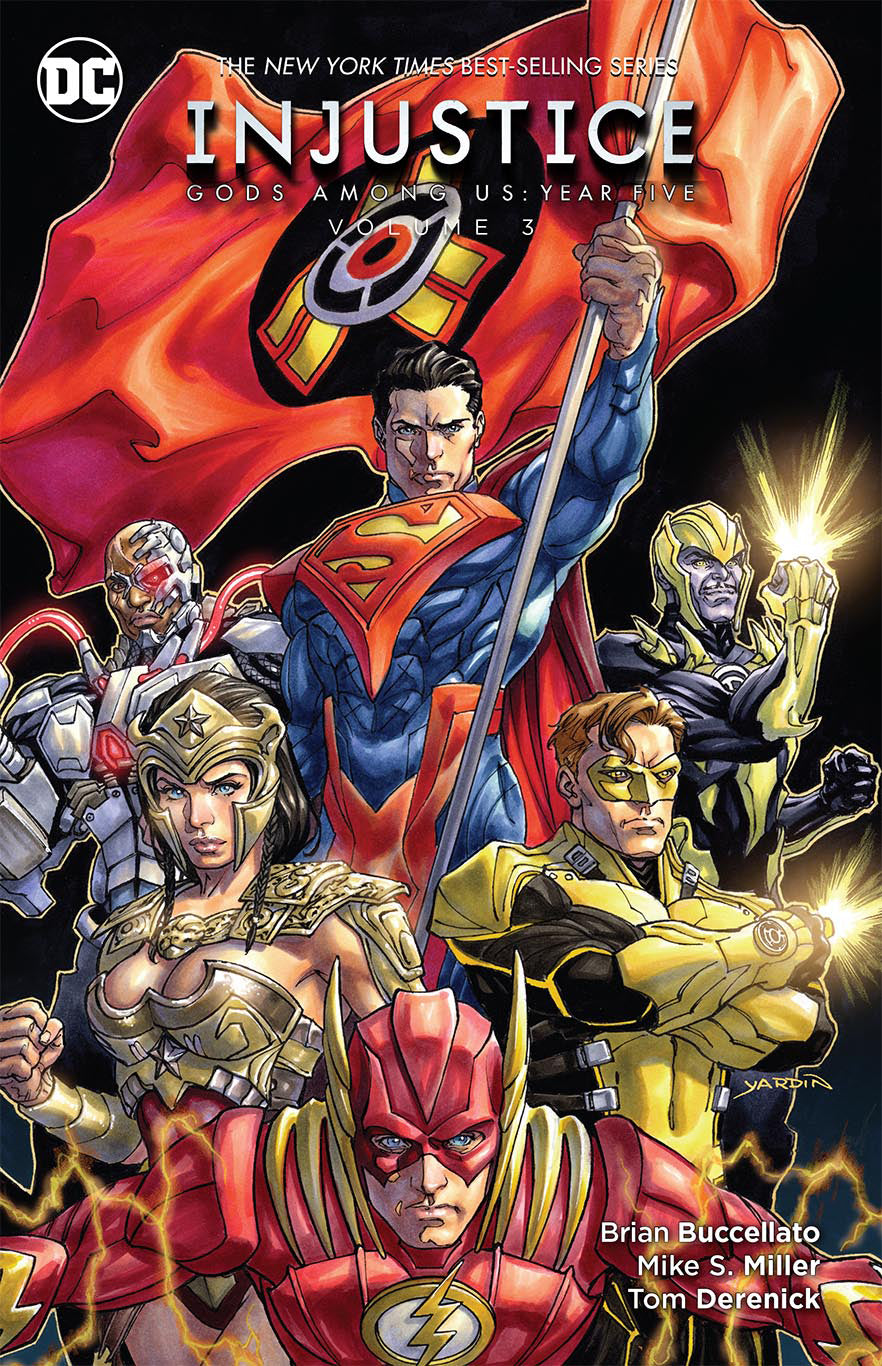 INJUSTICE GODS AMONG US YEAR FIVE TP VOL 03 | Game Master's Emporium (The New GME)