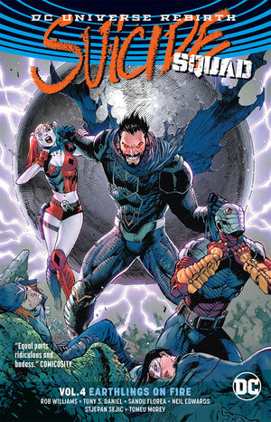 SUICIDE SQUAD TP VOL 04 EARTHLINGS ON FIRE (REBIRTH)