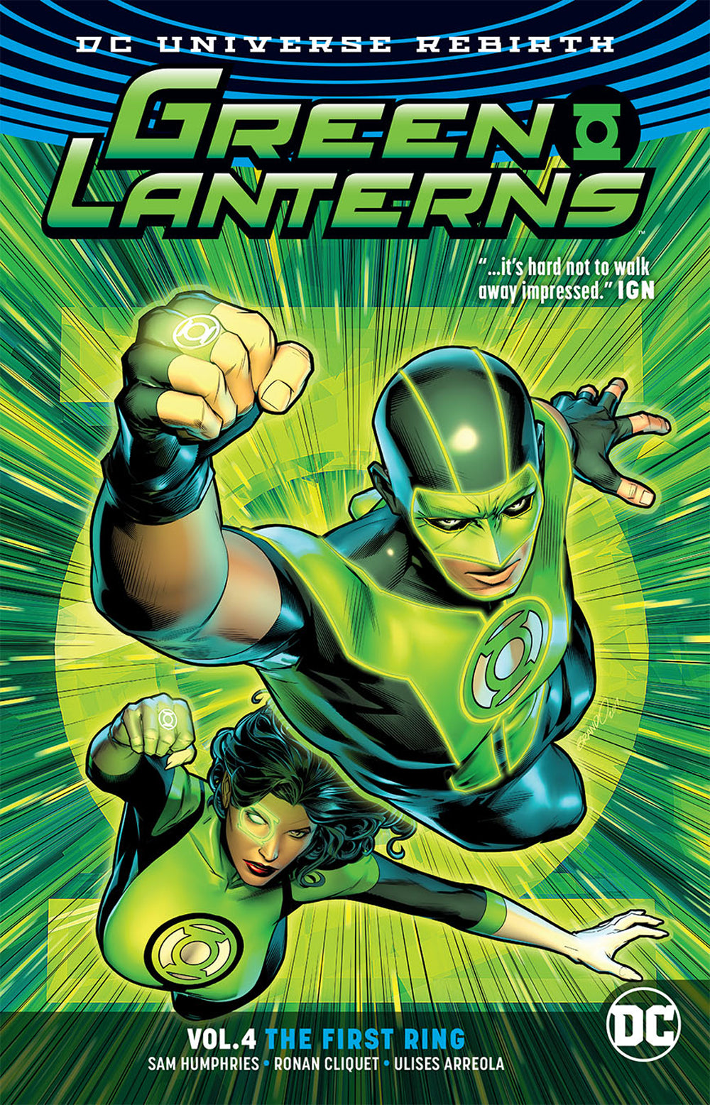 GREEN LANTERNS TP VOL 04 THE FIRST RINGS (REBIRTH) | Game Master's Emporium (The New GME)