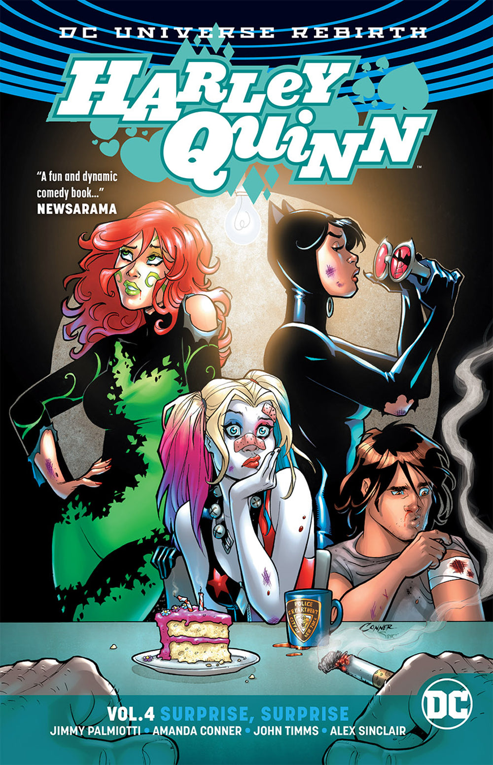 HARLEY QUINN TP VOL 04 SURPRISE SURPRISE (REBIRTH) | Game Master's Emporium (The New GME)