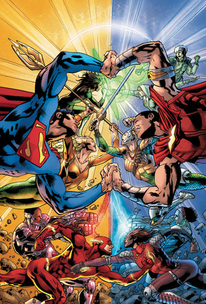 JUSTICE LEAGUE TP VOL 05 LEGACY REBIRTH