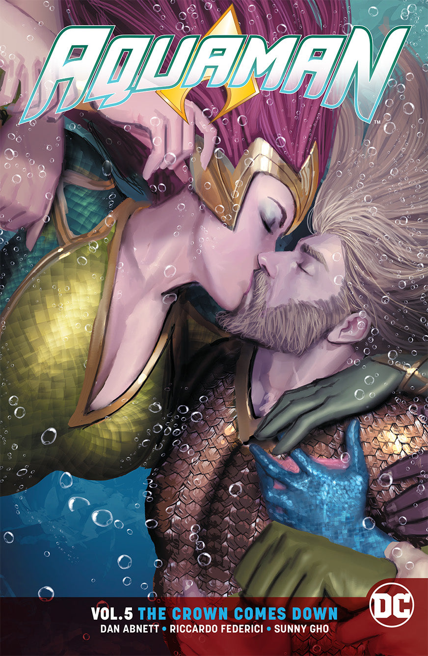 AQUAMAN TP VOL 05 THE CROWN COMES DOWN REBIRTH | Game Master's Emporium (The New GME)