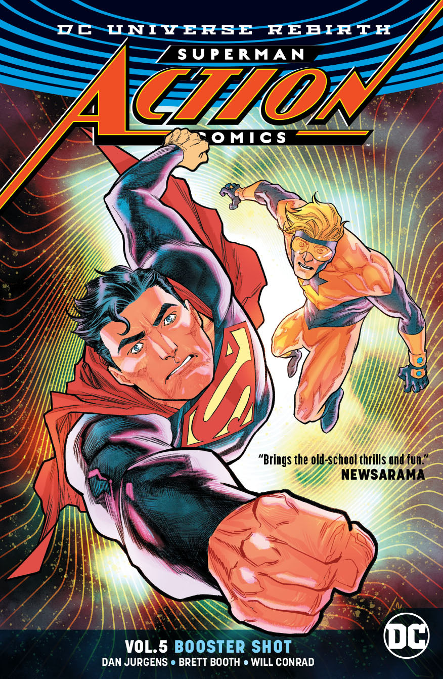 SUPERMAN ACTION COMICS TP VOL 05 BOOSTER SHOT REBIRTH | Game Master's Emporium (The New GME)