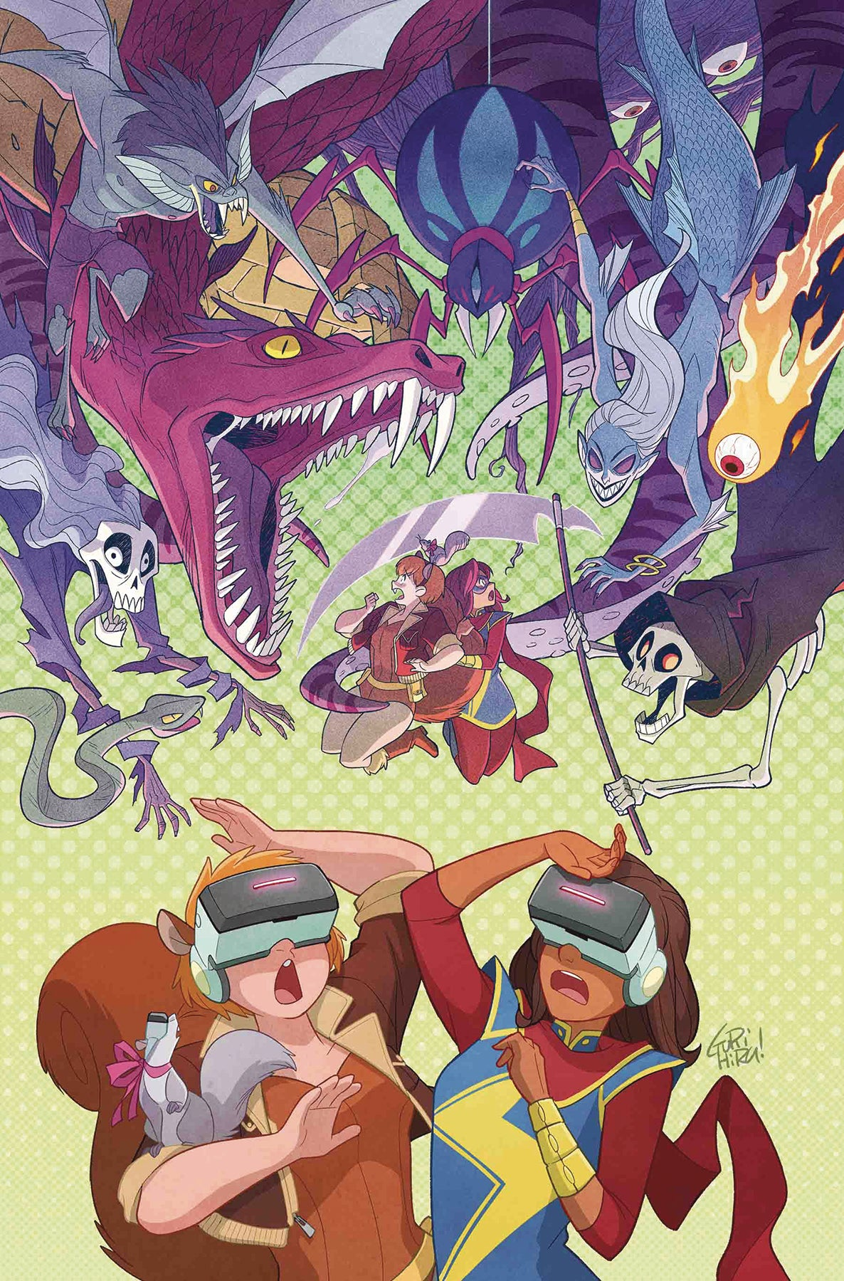MARVEL RISING MS MARVEL SQUIRREL GIRL #1 | Game Master's Emporium (The New GME)