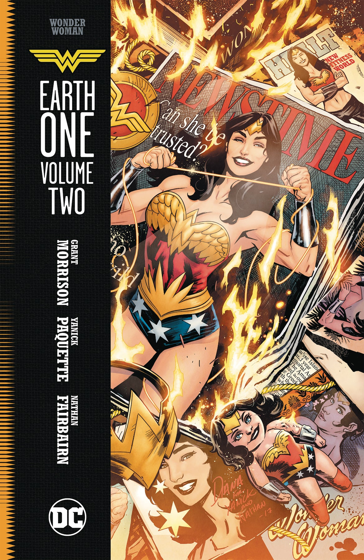 WONDER WOMAN EARTH ONE HC VOL 02 | Game Master's Emporium (The New GME)