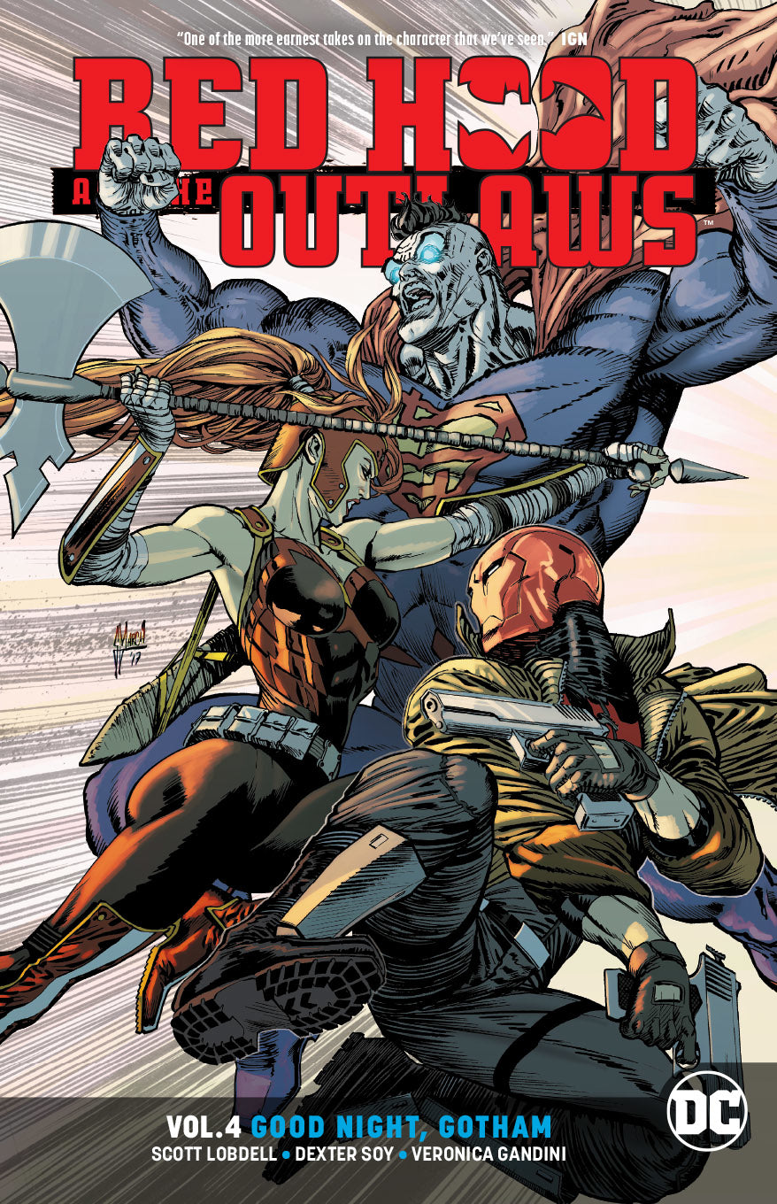 RED HOOD & THE OUTLAWS TP VOL 04 GOOD NIGHT GOTHAM | Game Master's Emporium (The New GME)