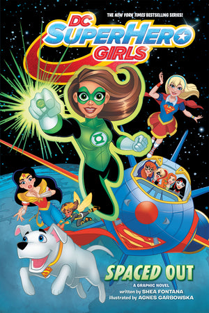 DC SUPER HERO GIRLS SPACED OUT TP
