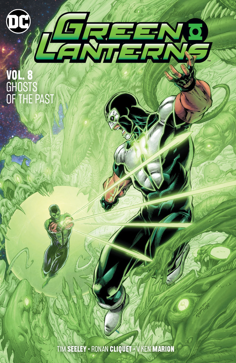 GREEN LANTERNS TP VOL 08 GHOSTS OF THE PAST | Game Master's Emporium (The New GME)