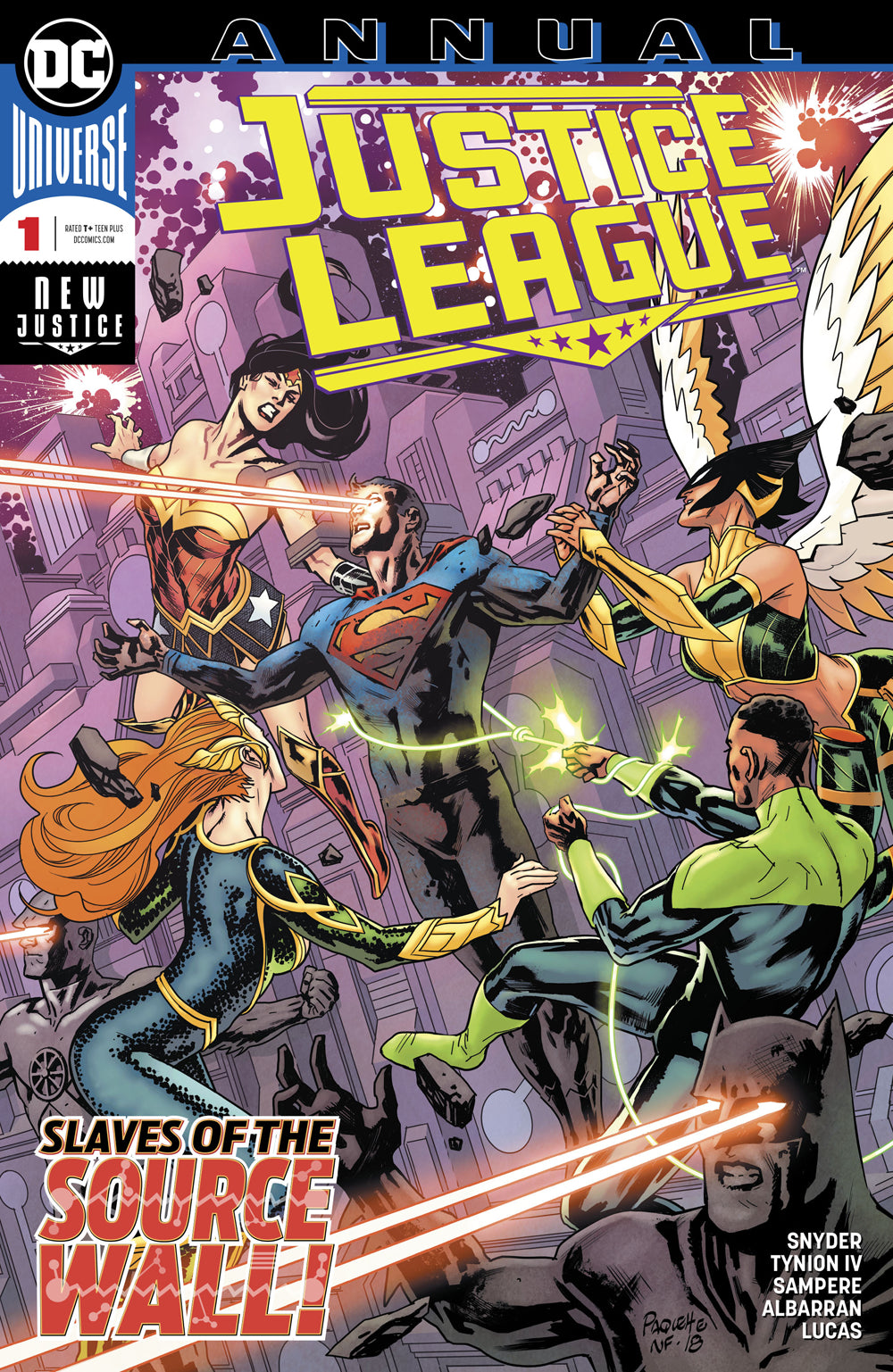 JUSTICE LEAGUE ANNUAL #1 | Game Master's Emporium (The New GME)