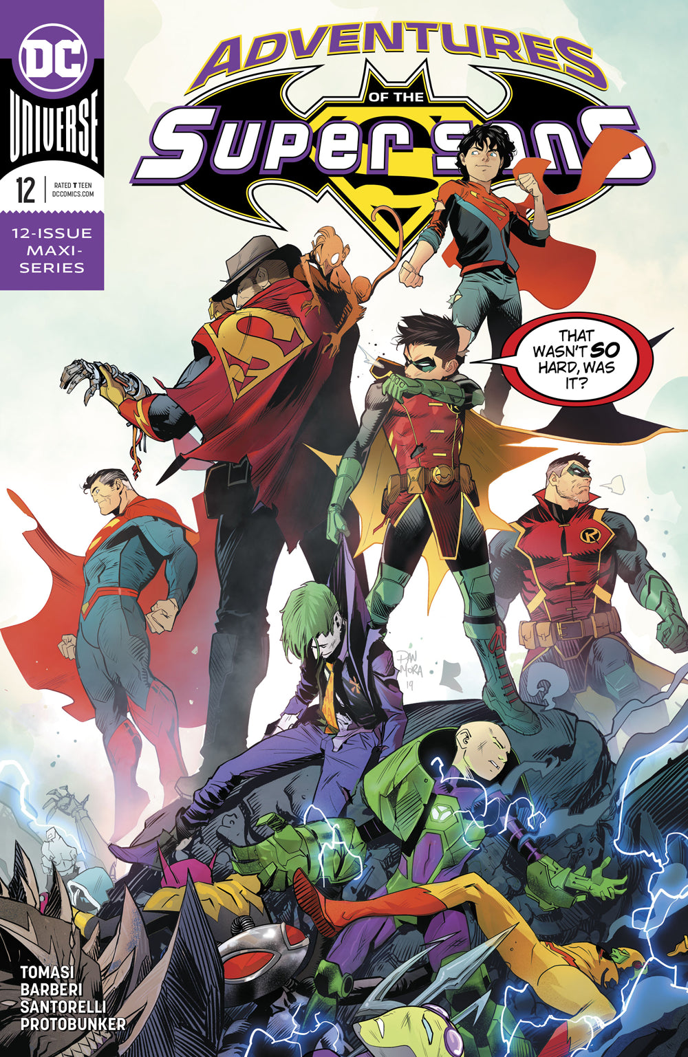 ADVENTURES OF THE SUPER SONS #12 (OF 12)