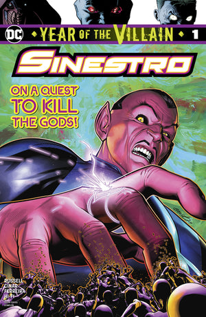 SINESTRO YEAR OF THE VILLAIN #1