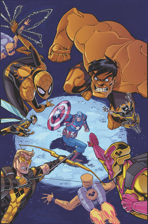 MARVEL ACTION AVENGERS #10 SOMMARIVA (C: 1-0-0)