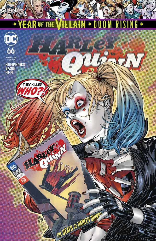 HARLEY QUINN Vol 3 #66 YOTV | Game Master's Emporium (The New GME)