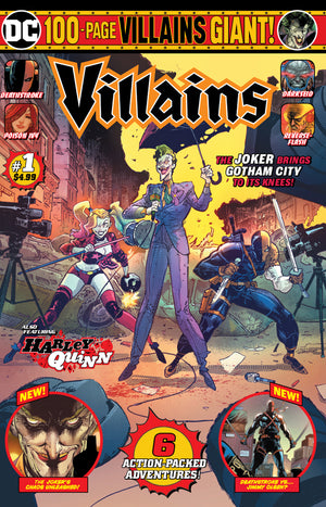 DC VILLAINS GIANT #1