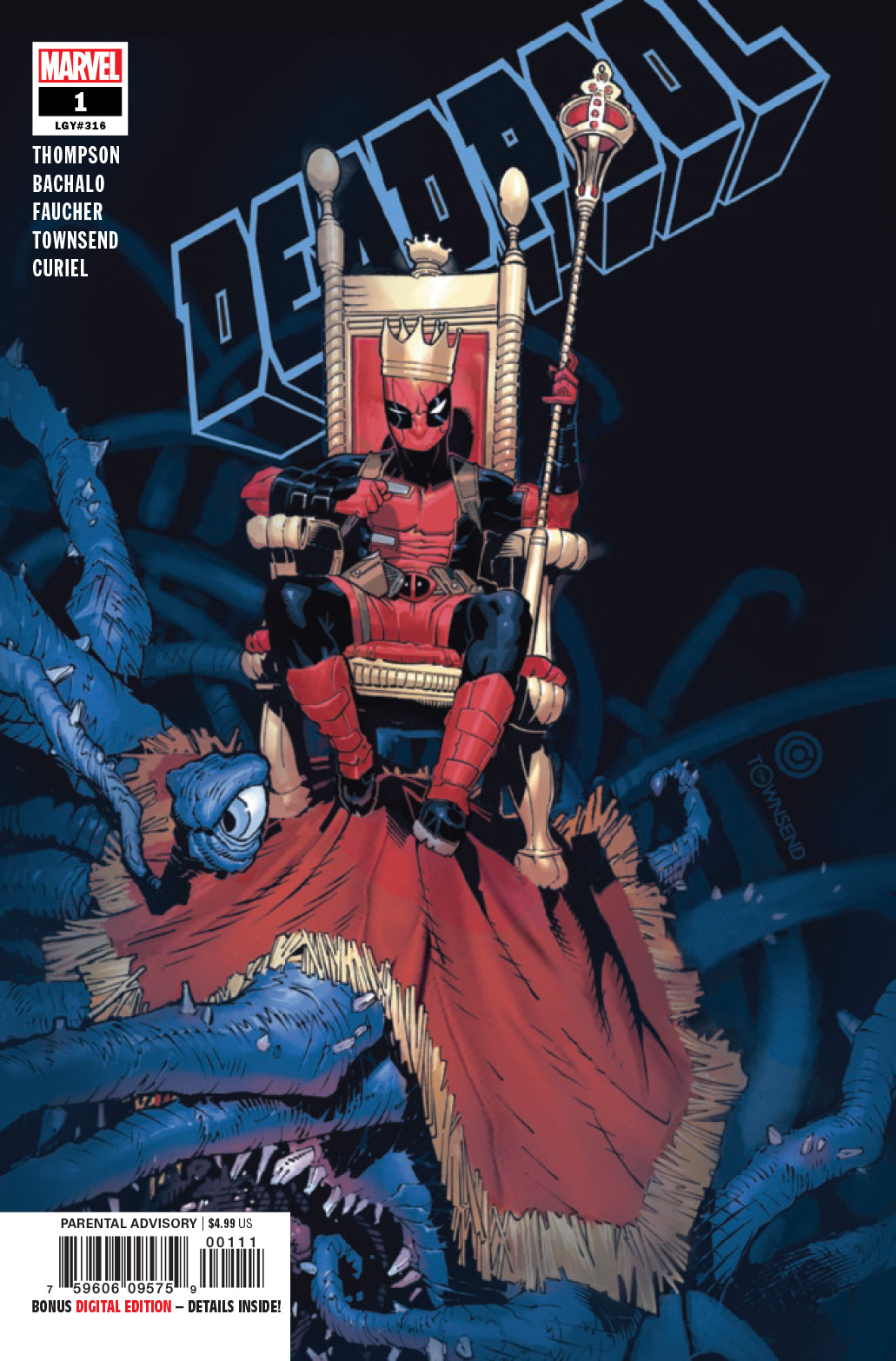 DEADPOOL  (2019)  #1 Blank to #4 Set | Game Master's Emporium (The New GME)
