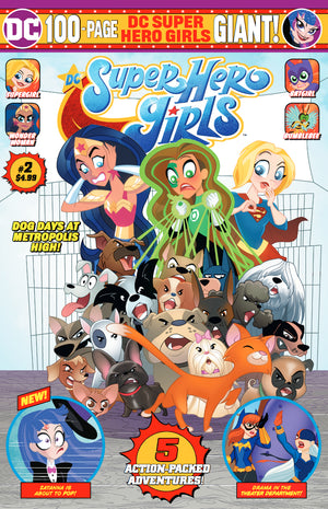 DC SUPER HERO GIRLS GIANT #2 (RES)