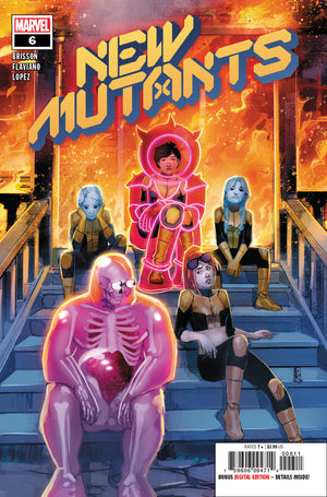 NEW MUTANTS #6 DX