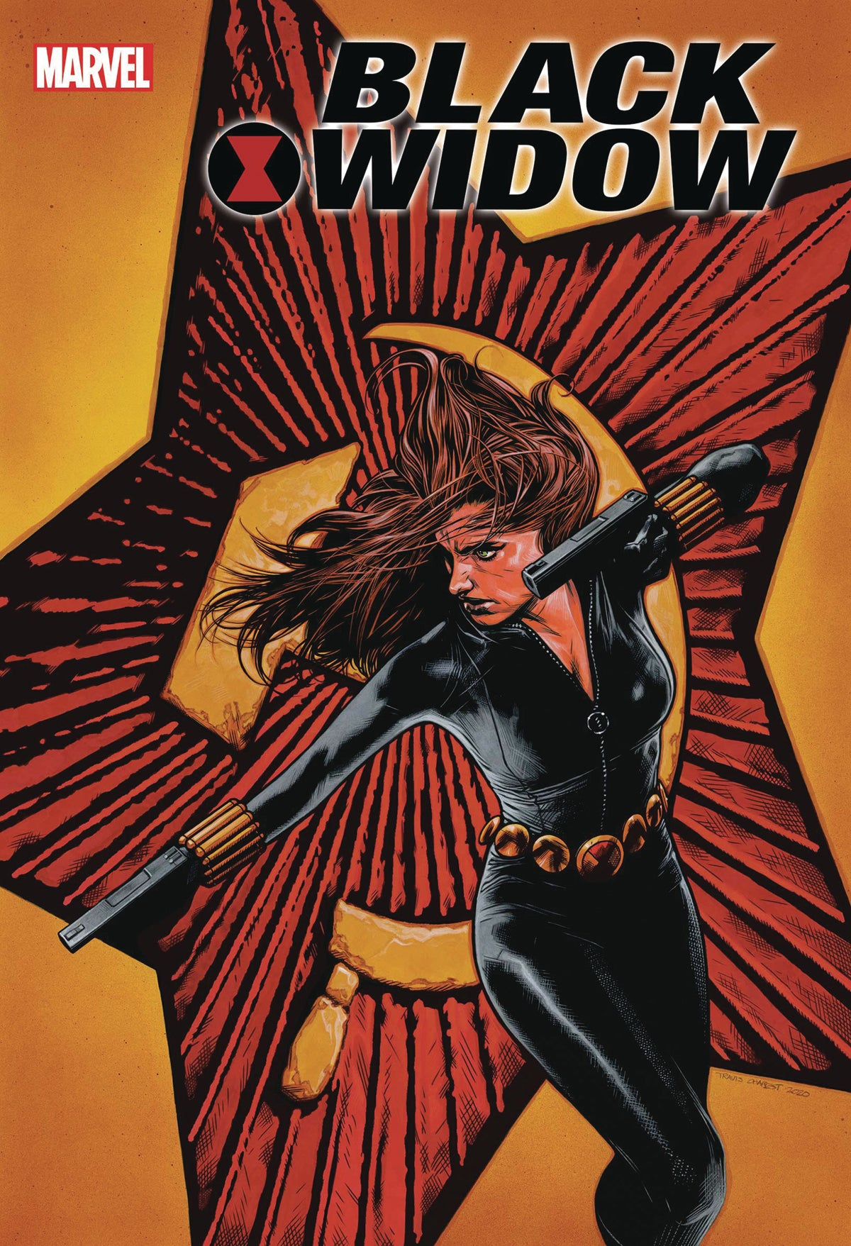 BLACK WIDOW #1 CHAREST VAR | Game Master's Emporium (The New GME)