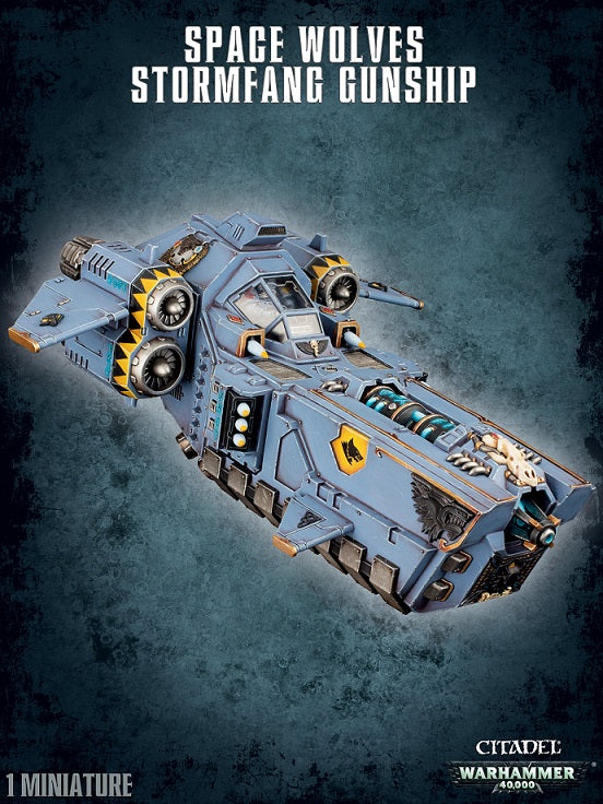 Space Wolves  Stormfang Gunship | Game Master's Emporium (The New GME)
