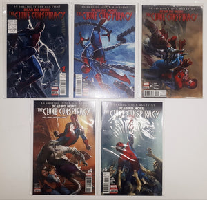 Spider-Man Dead No More Clone Conspiracy #1 to #5  High Grade Set