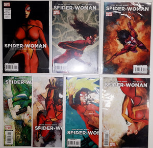 Spider-Woman (2009) #1 to #7 High Grade Set