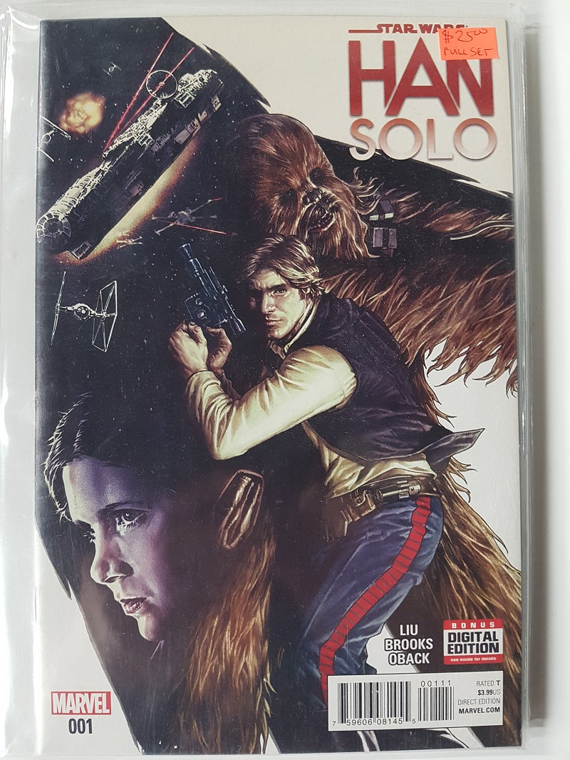 Star Wars Han Solo (2016) Full  Series | Game Master's Emporium (The New GME)