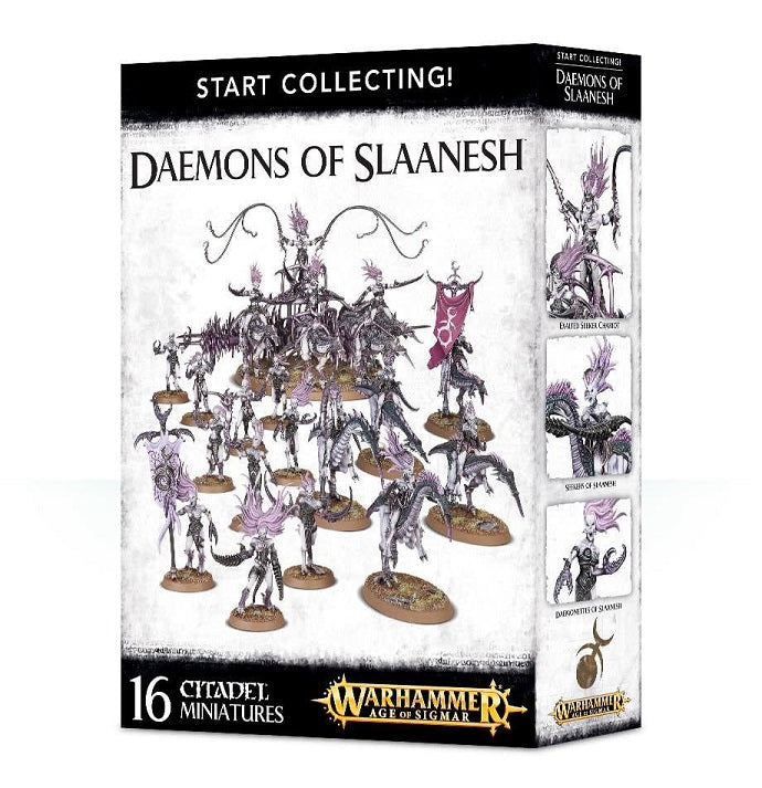 Start Collecting  Daemons of Slanesh
