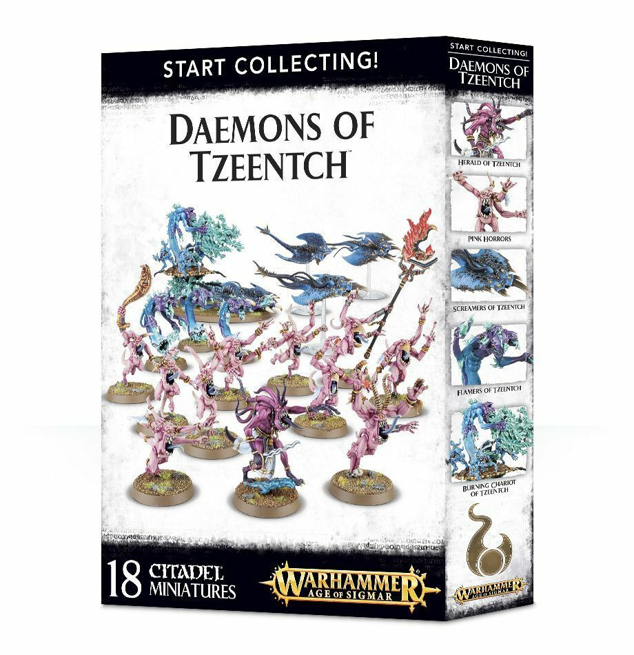Start Collecting  Daemons of Tzeench