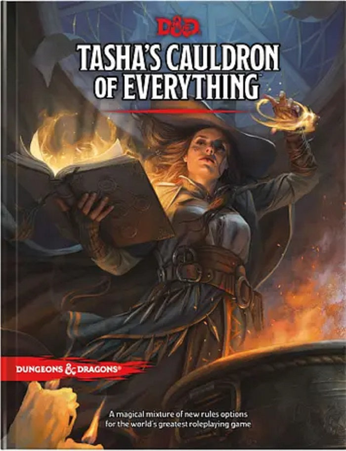 D&D Dungeons & Dragons Tasha's Cauldron of Everything (Reg Cvr)