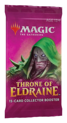MTG Throne of Eldraine  Single Collector Booster Pack