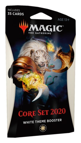 MTG Core 2020 White Theme Booster Pack