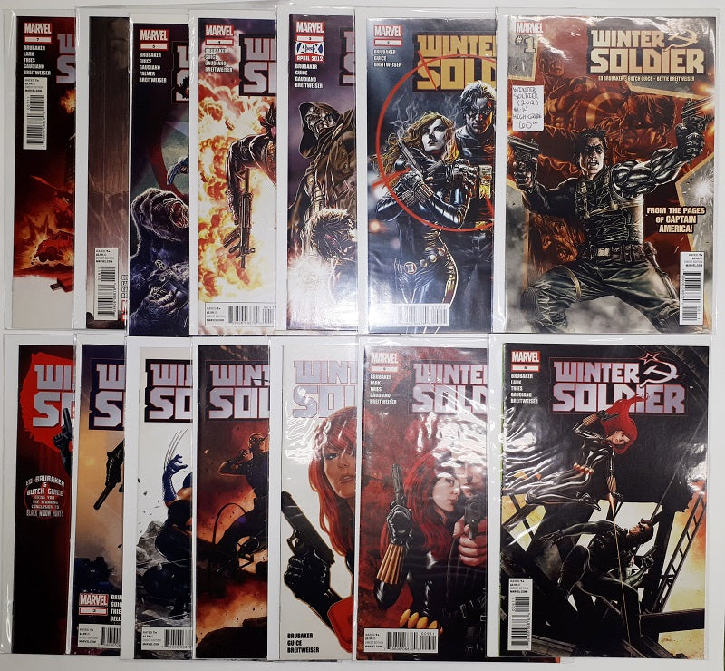 Winter Soldier (2012) #1 to #14 High Grade Set
