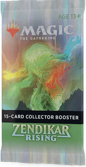 MTG Zendikar Rising  Single Collector Booster
