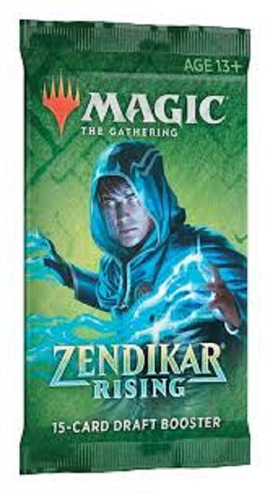 MTG Zendikar Rising  Single Draft Booster