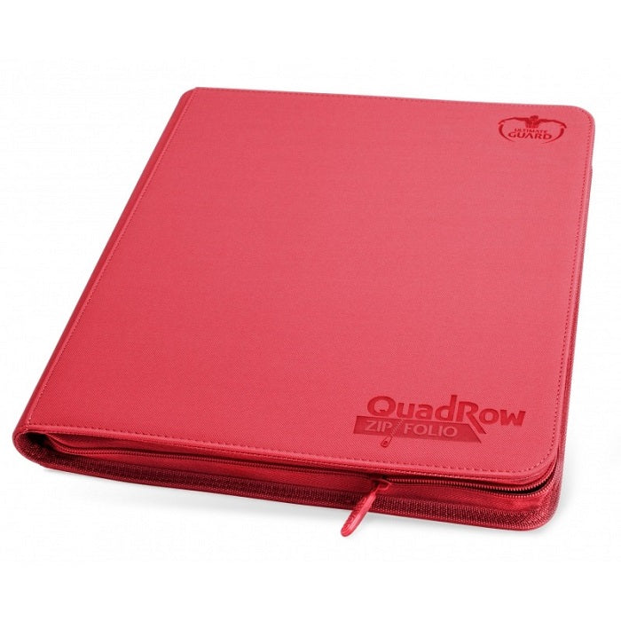 Ultimate Guard Quad Row Zipfolio RED