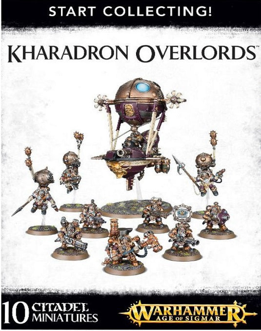 Start Collecting  Karadron Overlords