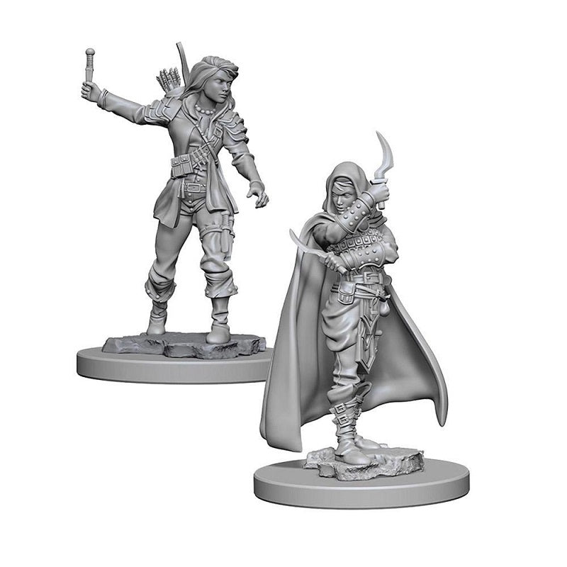 D&D Mini Female Rogue | Game Master's Emporium (The New GME)
