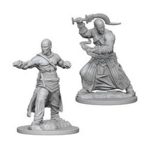 D&D Mini Human Male Monk