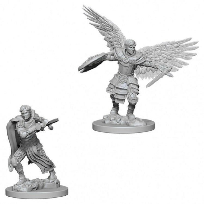 D&D Mini Aasimar Fighter