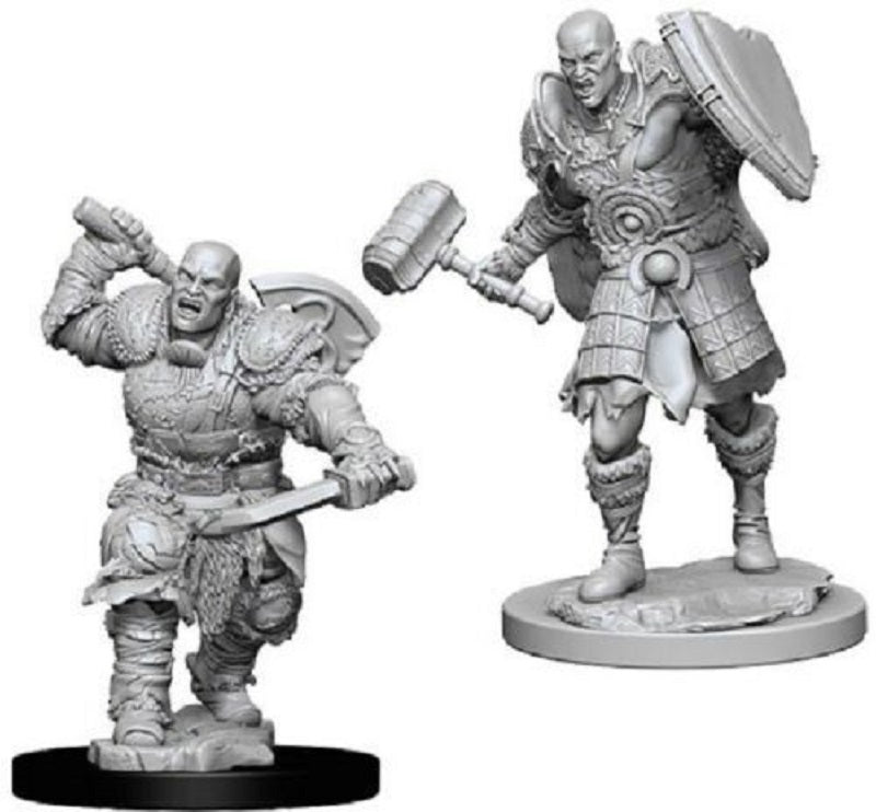 D&D Mini Goliath Fighter